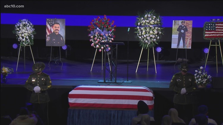 Officer Harminder Grewal memorial service | Full service