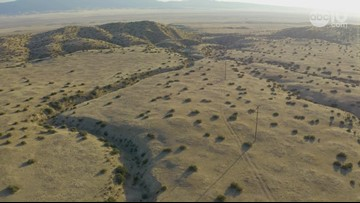 San Andreas Fault in California: Raw Drone Video