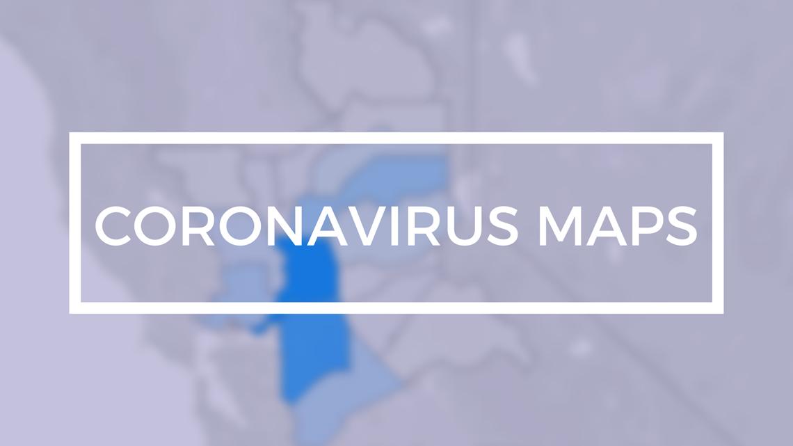 COVID-19 Map: Where the coronavirus is spreading in the Sacramento region