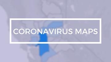 Maps: Coronavirus cases across the Sacramento region