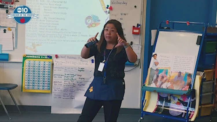 October 2020: Suzan Sae Lee is ABC10's Teacher of the Month