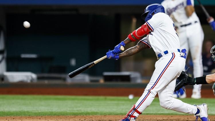 García extends rookie HR lead to 20 as Rangers beat A's 5-3