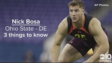 DE, Nick Bosa – San Francisco 49ers – No. 2 pick | Need to know