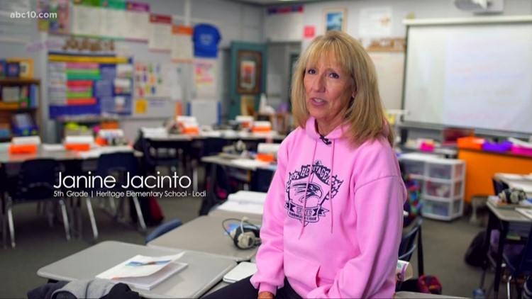 November 2019: Janine Jacinto is our Teacher of the Month