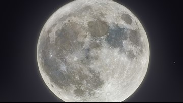 Elk Grove astrophotographer captures rare Friday the 13th Harvest Moon