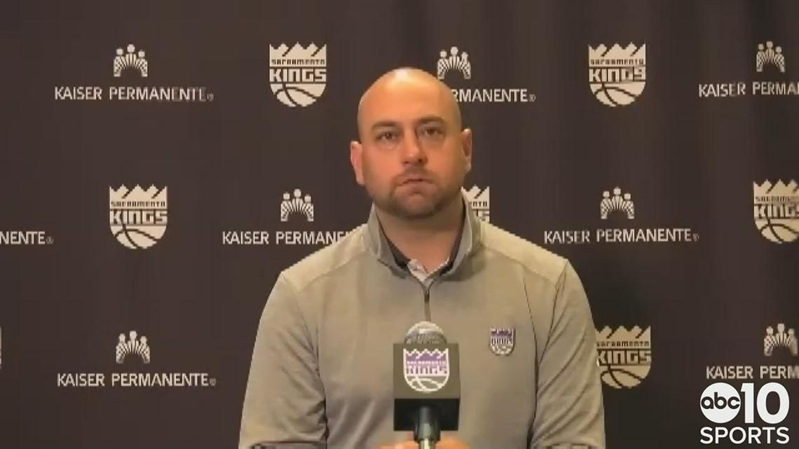 Kings coach Luke Walton on remaining coach following a 31-41 season in Sacramento