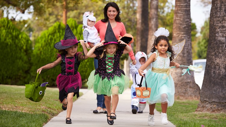 Trick-or-treating in Elk Grove   Events for children to get candy