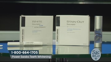 Interested in getting whiter teeth? Power Swabs may be what you need!