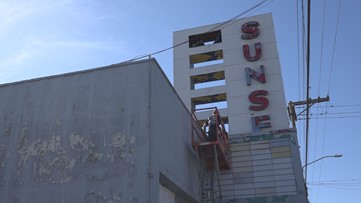 Lodi's Sunset Theatre is under new ownership. Now, the 70-year-old dilapidated building is getting renovated