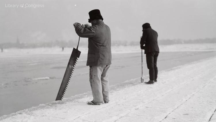 Ice harvesting 3