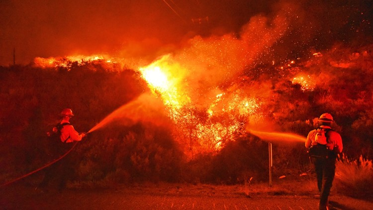 Alisal Fire near Santa Barbara now at more than 14,500 acres   Evacuation updates and maps