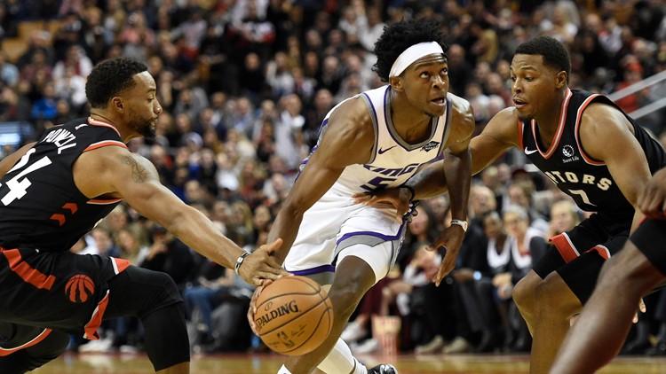 Kings Raptors Basketball
