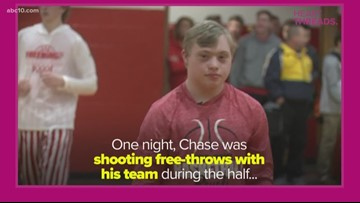 Heart Threads: Student with Down syndrome has huge moment during basketball game