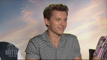 Tom Holland shares secrets of the Spider-Man suit   Extra Butter 'Far From Home' special in London