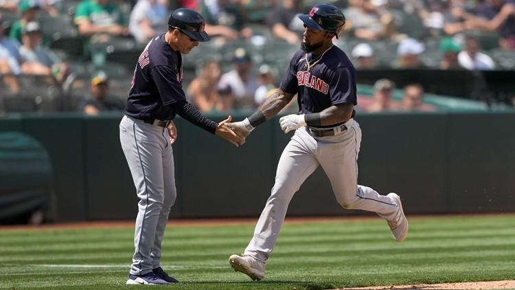 Indians homer twice off All-Star Bassitt, beat Athletics 4-2