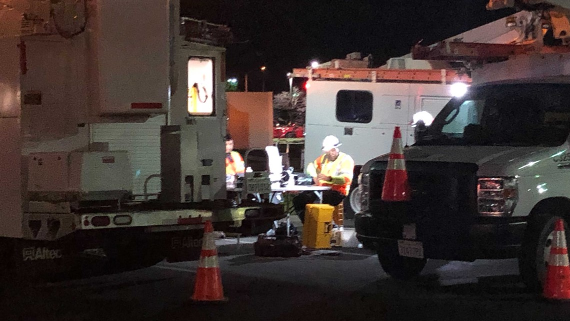 Some customers get internet service restored after large vehicle downs power lines in Citrus Heights   Update