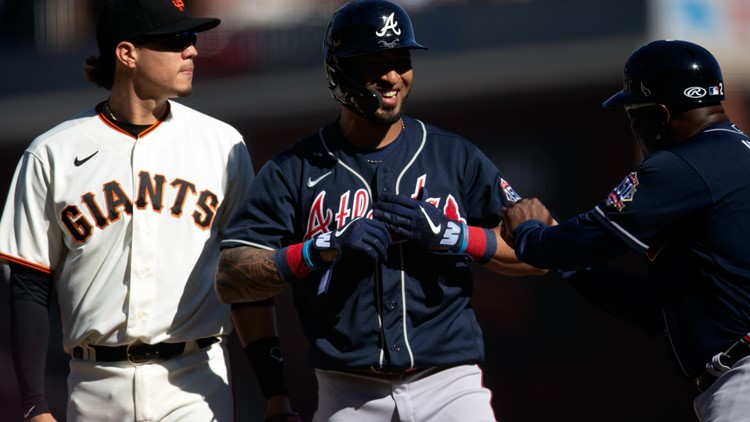 Rosario hits for cycle, leads Fried, Braves over Giants 3-0