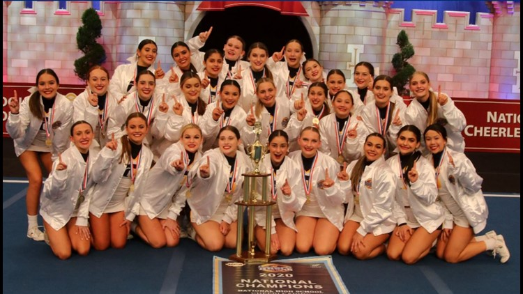 Oak Ridge, Liberty Ranch High School cheer teams bring home UCA National Championships