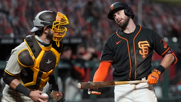 Giants need win, help to reach playoffs after loss to Padres