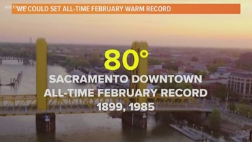 February has been a month of warm and dry extremes for Northern California