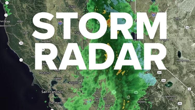 Storm Radar: Track the storm's latest location