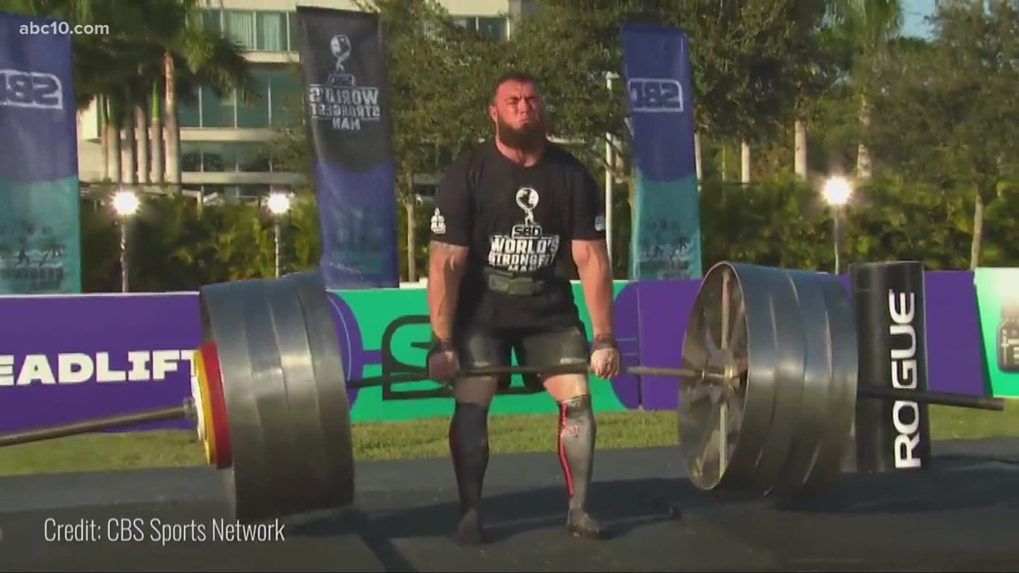 With California reopening, World's Strongest Man competition kicks of a summer of events