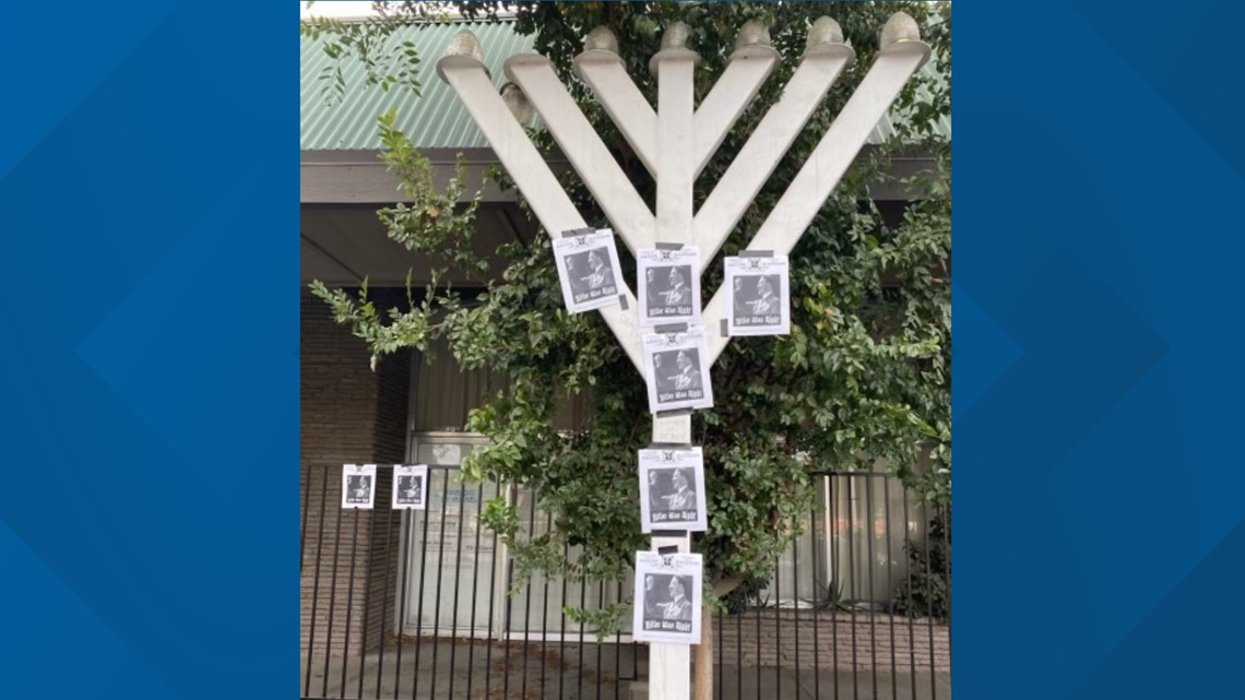 Anti-Semitic fliers left at synagogue in Carmichael