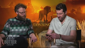Seth Rogen and Billy Eichner answer 'Lion King' fan questions | Extra Butter