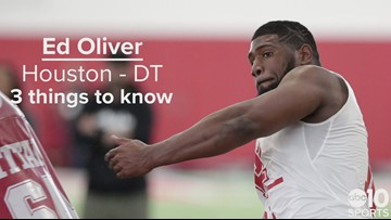 DT, Ed Oliver – Buffalo Bills – No. 9 pick | Need to know
