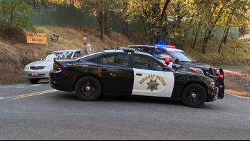 El Dorado County Sheriff's Deputy shot and killed   Scene video