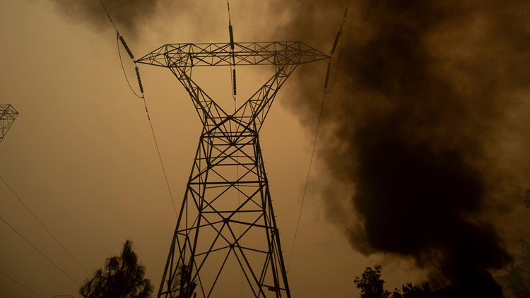 More blackouts possible as fire danger looms in Northern California