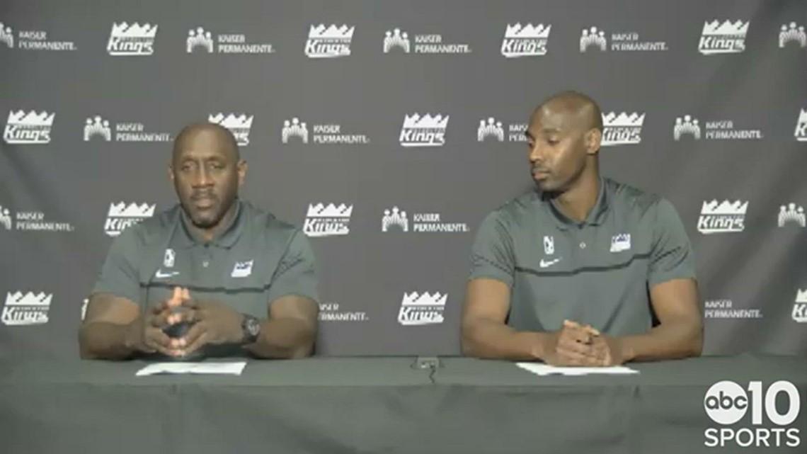 Former Sacramento Kings star Bobby Jackson introduced as head coach for G League's Stockton Kings
