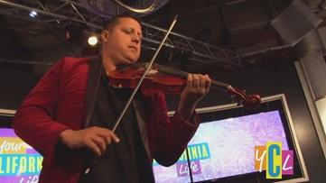 """""""Violin on Fire"""" – Patrick Contreras"""