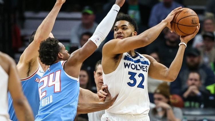 Towns, bench help Timberwolves beat road-weary Kings