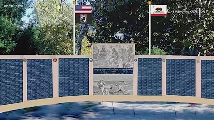 New Placer County Veterans Monument will honor local heroes