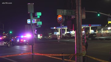 Man in critical condition after being hit by vehicle on Mack Road in Sacramento