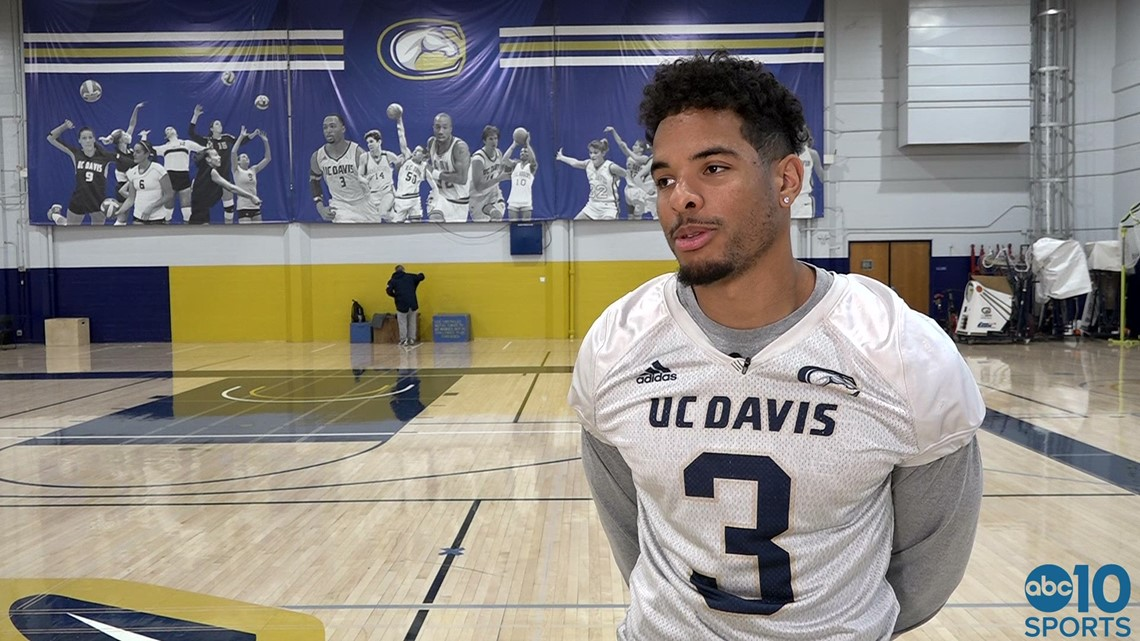 top fashion a521b aa0bb Catching up with UC Davis Aggies wide receiver Keelan Doss ahead of FCS  Playoffs ' FULL INTERVIEW