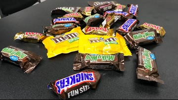 Oakdale Police: Check your child's candy after trick-or-treating