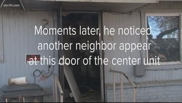 Turlock man saves elderly woman from apartment fire