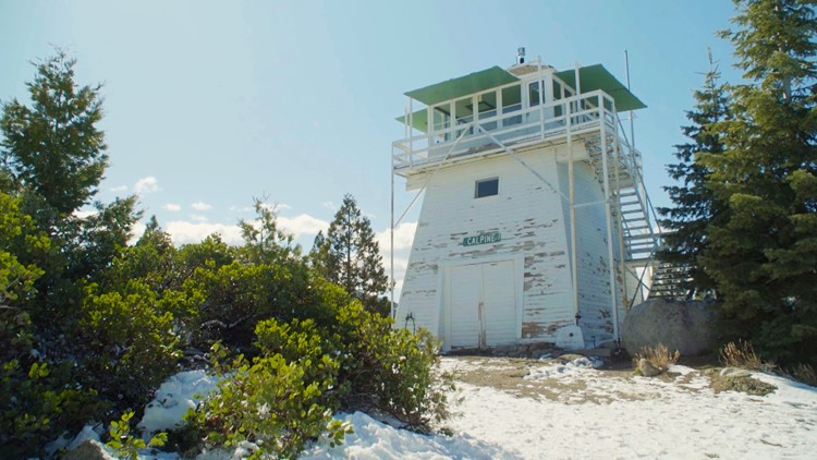Calpine Fire lookout – Tahoe National Forest