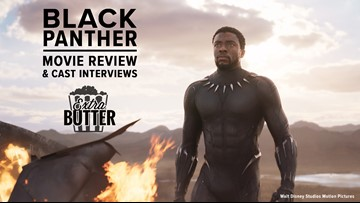'Black Panther' movie review & cast interviews | Extra Butter