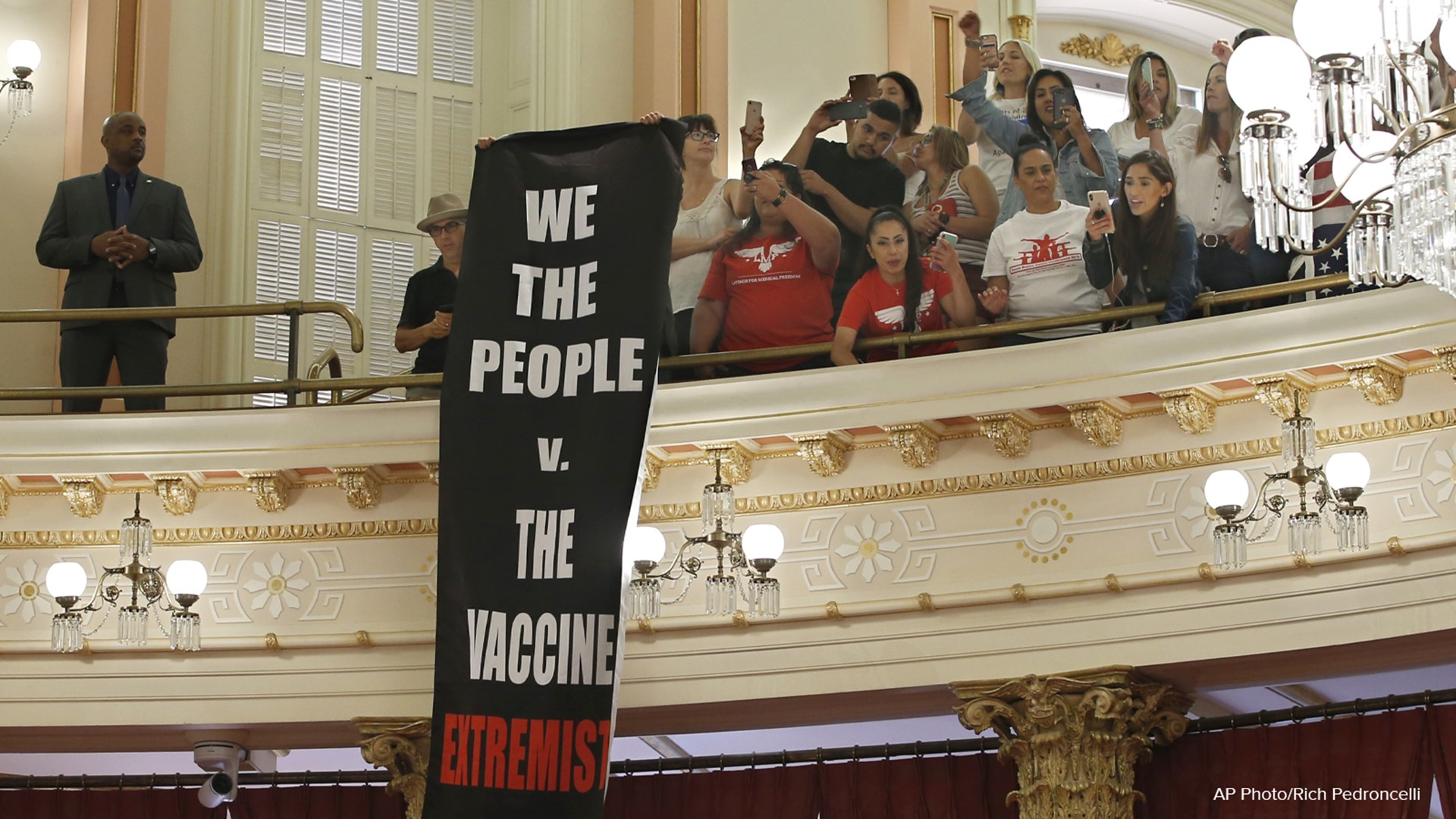 Anti-vaxxer group fail to block new California law | abc10.com