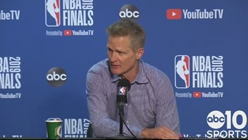 Steve Kerr on Warriors Game 6 loss, Raptors winning NBA title | 2019 NBA Finals