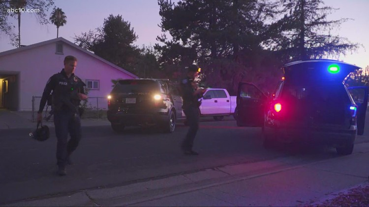 Suspect who barricaded self in West Sacramento home arrested
