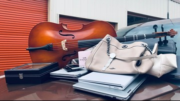 Stolen cello, laptops returned to rightful owners after series of burglaries