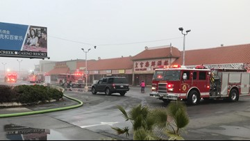 Crews douse 2-alarm fire at business in South Sacramento