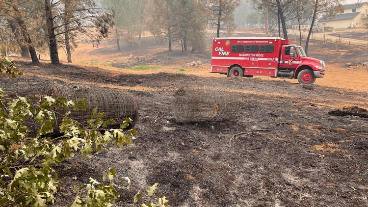 Placer County prepares wildfire burn scar areas for incoming storms