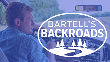 Bartell's Backroads: Interactive Map