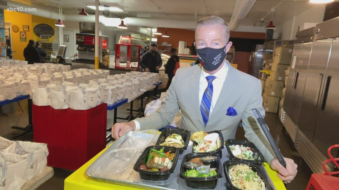 Drewski's Hot Rod Kitchen combats food insecurity by providing meals for seniors in need