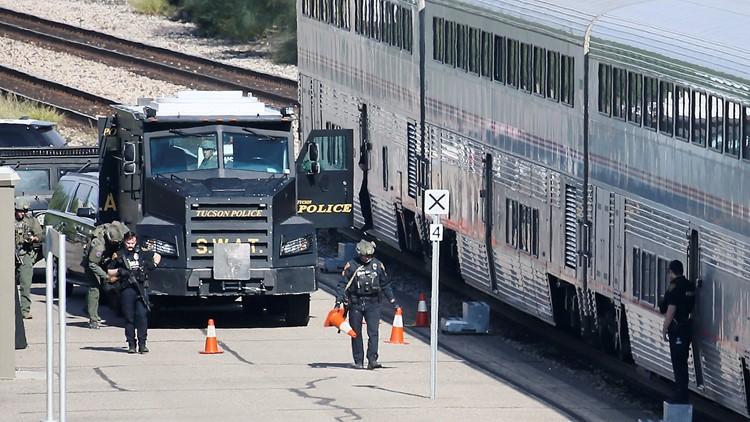 Gunman in Arizona train shooting faced charges in Sacramento, Alameda counties
